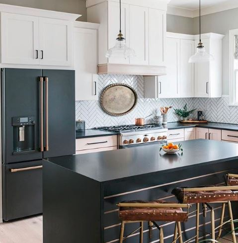 Black Stainless Steel Is The Liance Finish Of Choice