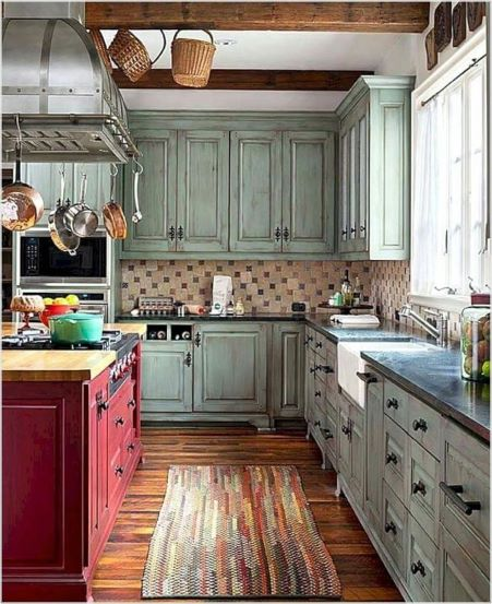 Farmhouse style is more popular than ever for remodeled kitchens