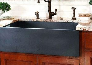 When choosing a sink for your kitchen remodel Granite composite sinks won't scratch or chip