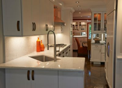 Quartz is the most popular countertop aterial