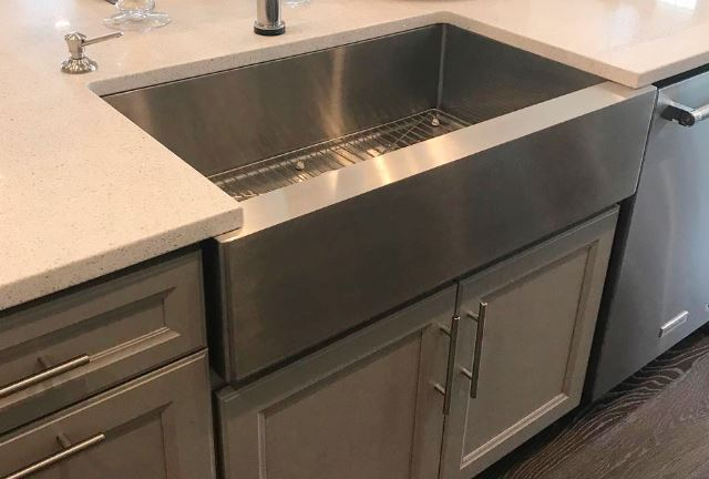 You won't regret choosing a stainless steel sink for your remodeled kitchen