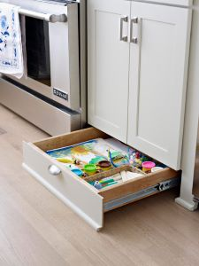 Using every available inch of storage space is a kitchen remodeling choice you won't regret