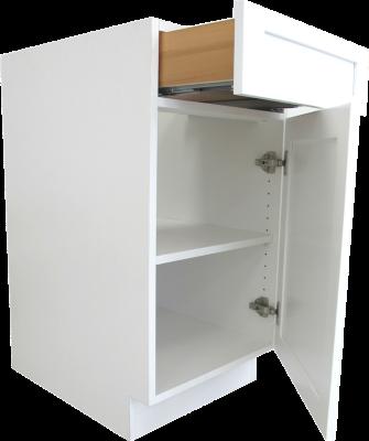 Frameless cabinet construction