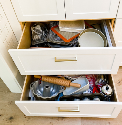 Replace the junk drawer with in-drawer storage