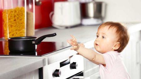 Kitchen Safety is at the center of kitchen design