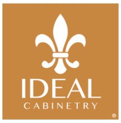 Ideal Cabinetry logo.