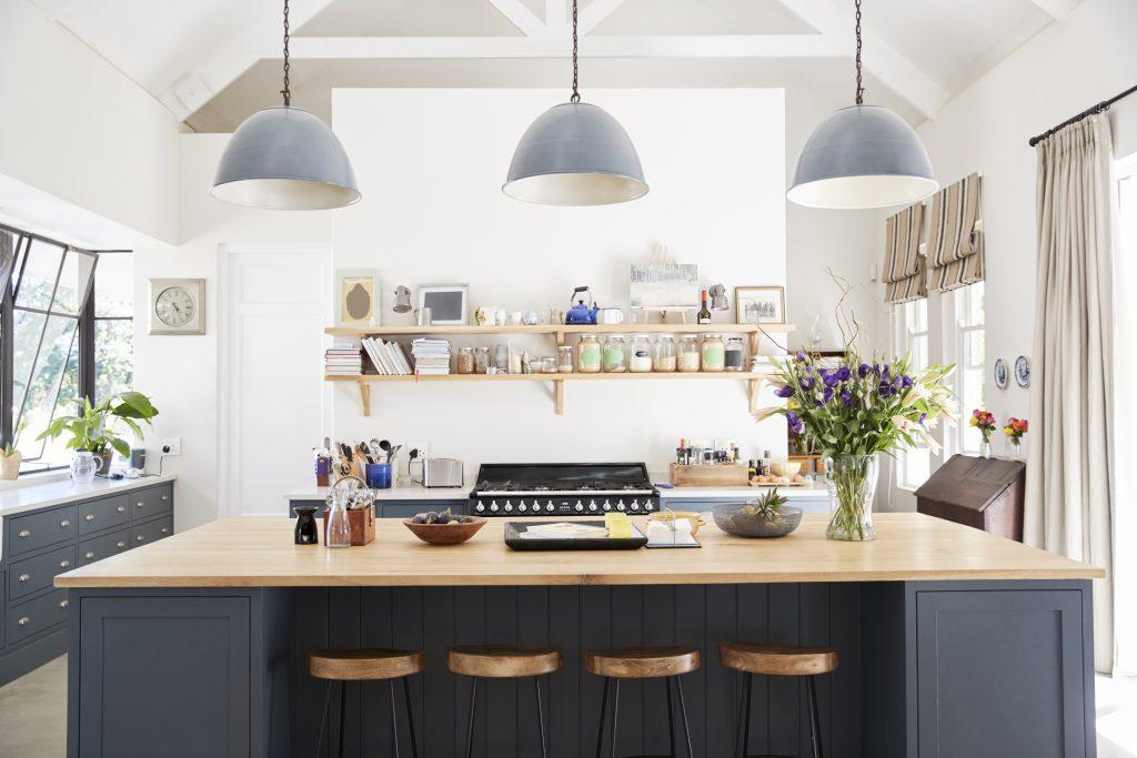 A kitchen designer creates beautiful spacess
