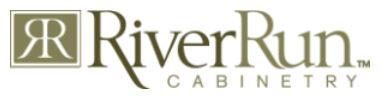 River Run Cabinetry logo.