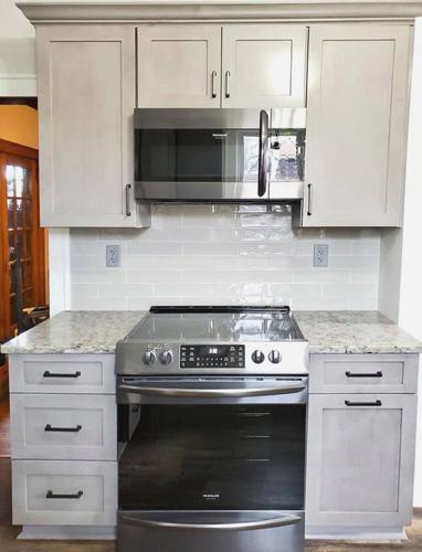 Kitchen remodel in older home