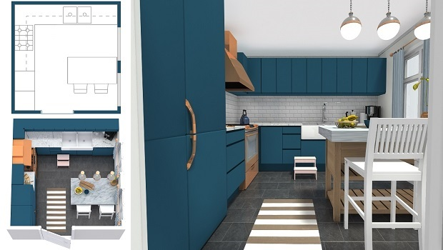 Measurements are critical when learning how to design a kitchen