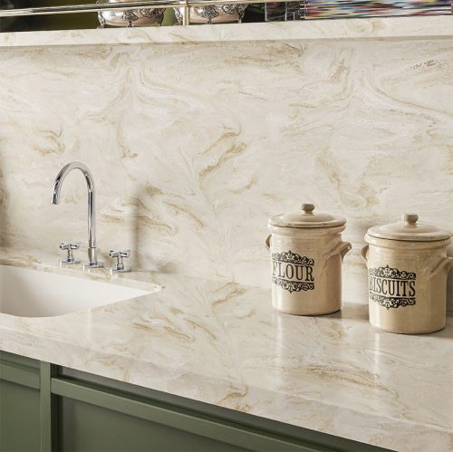 Solid surface Corian countertop is one of the best