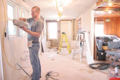 kitchen remodeling process